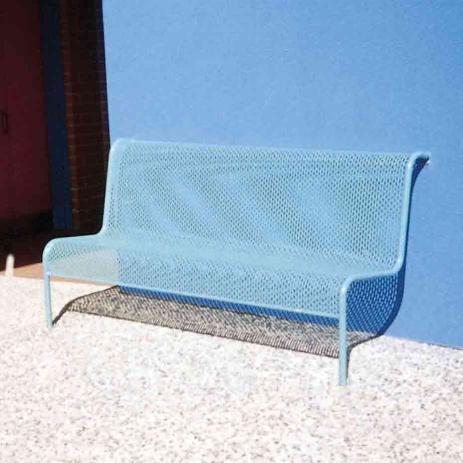 S105 perforated metal seat
