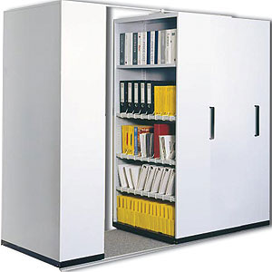 mobile office storage systems - high capacity storage | reflex equip