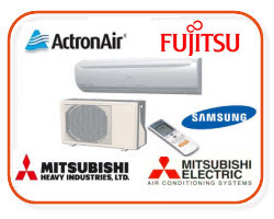 Fujitsu air condition, Mitsubishi Air Conditioning, Panasonic air Conditioning Split systems
