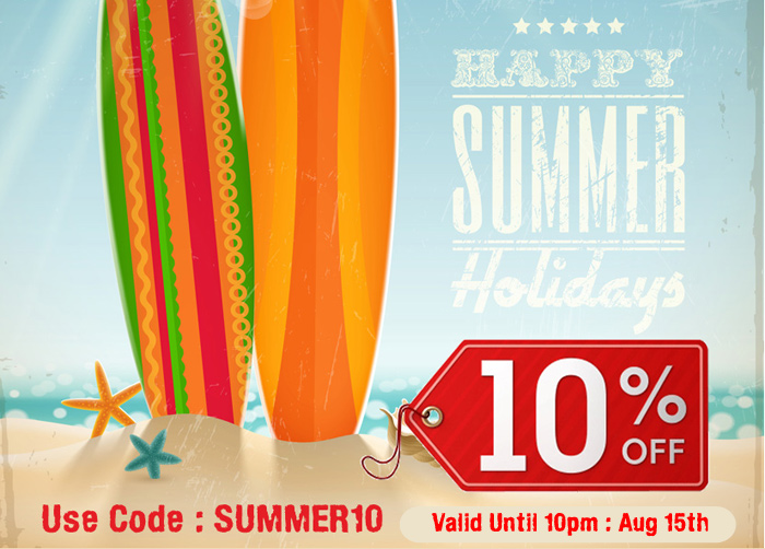Sizzling 105 Discount at Sweet and Nostalgic this Summer