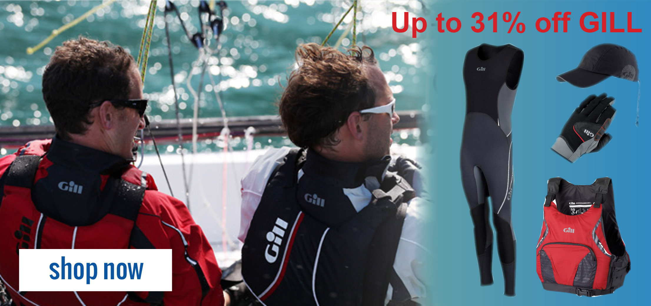 Gill Clearance Sale | Up to 33% off selected Gill Sailing Gear