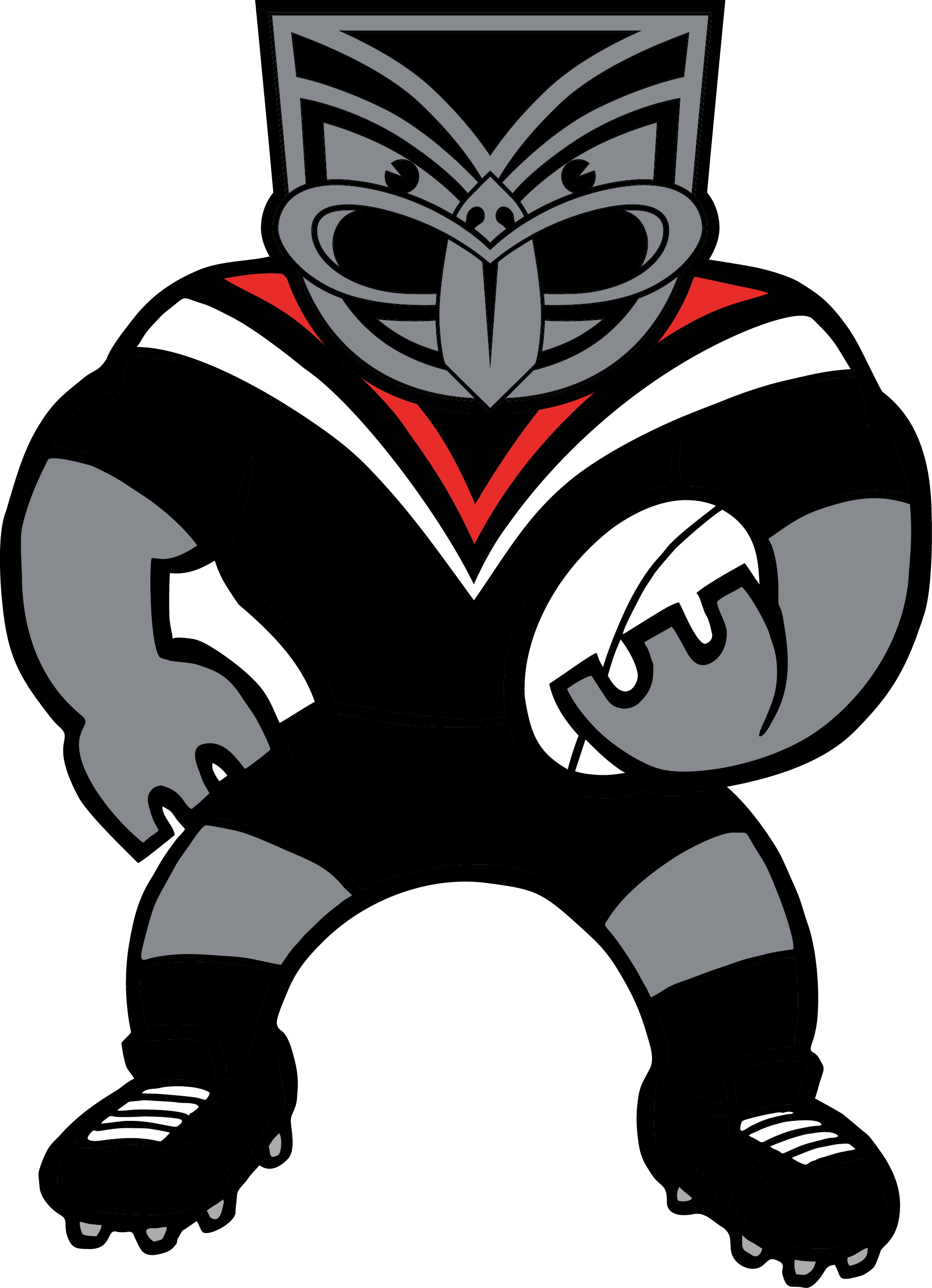 Nrl New Zealand Warriors Mascot Team Socks Pairs