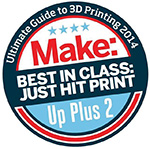 UP Plus 2 3D Printer - Best in its class