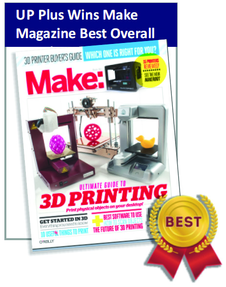 UP Plus 3D Printer - Best Overall