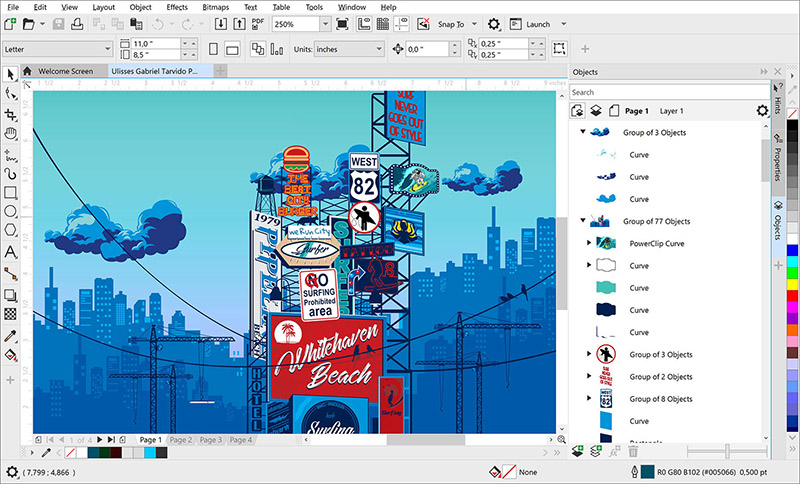 Corel DRAW Standard 2020