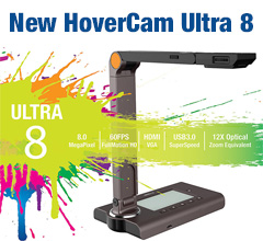 HoverCam Ultra 8 Documnet Camera