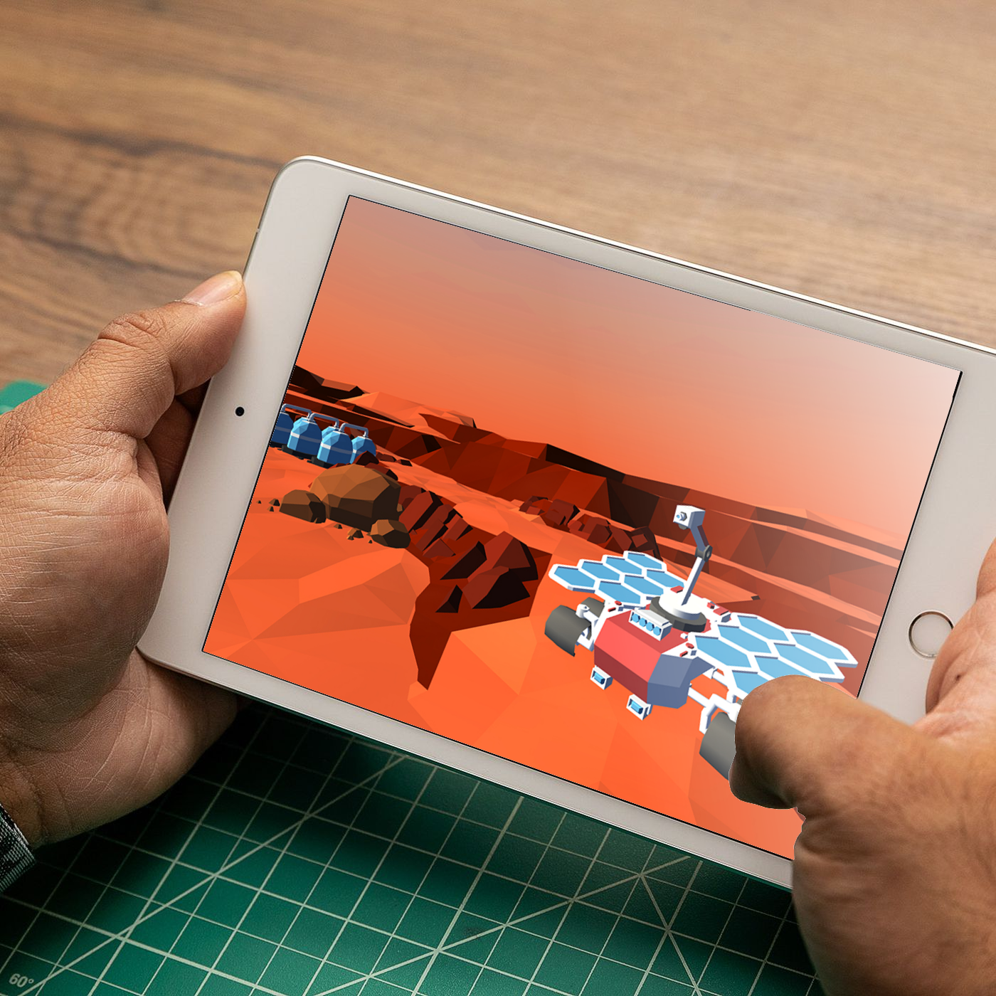 iPad Augmented Reality