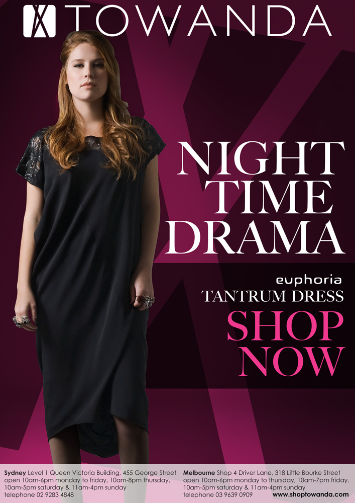 night time drama - new arrivals in store & online