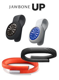 Jawbone UP MOVE and UP24 with the best tracking app