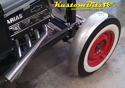 I beam axle cycle guard kit hi boy hot rods