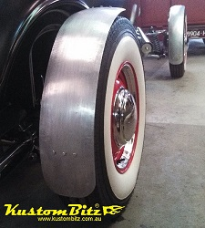 Polished Stainless steel hot rod cycle guards