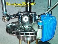 drag car brakes, gasser axle kit with brakes