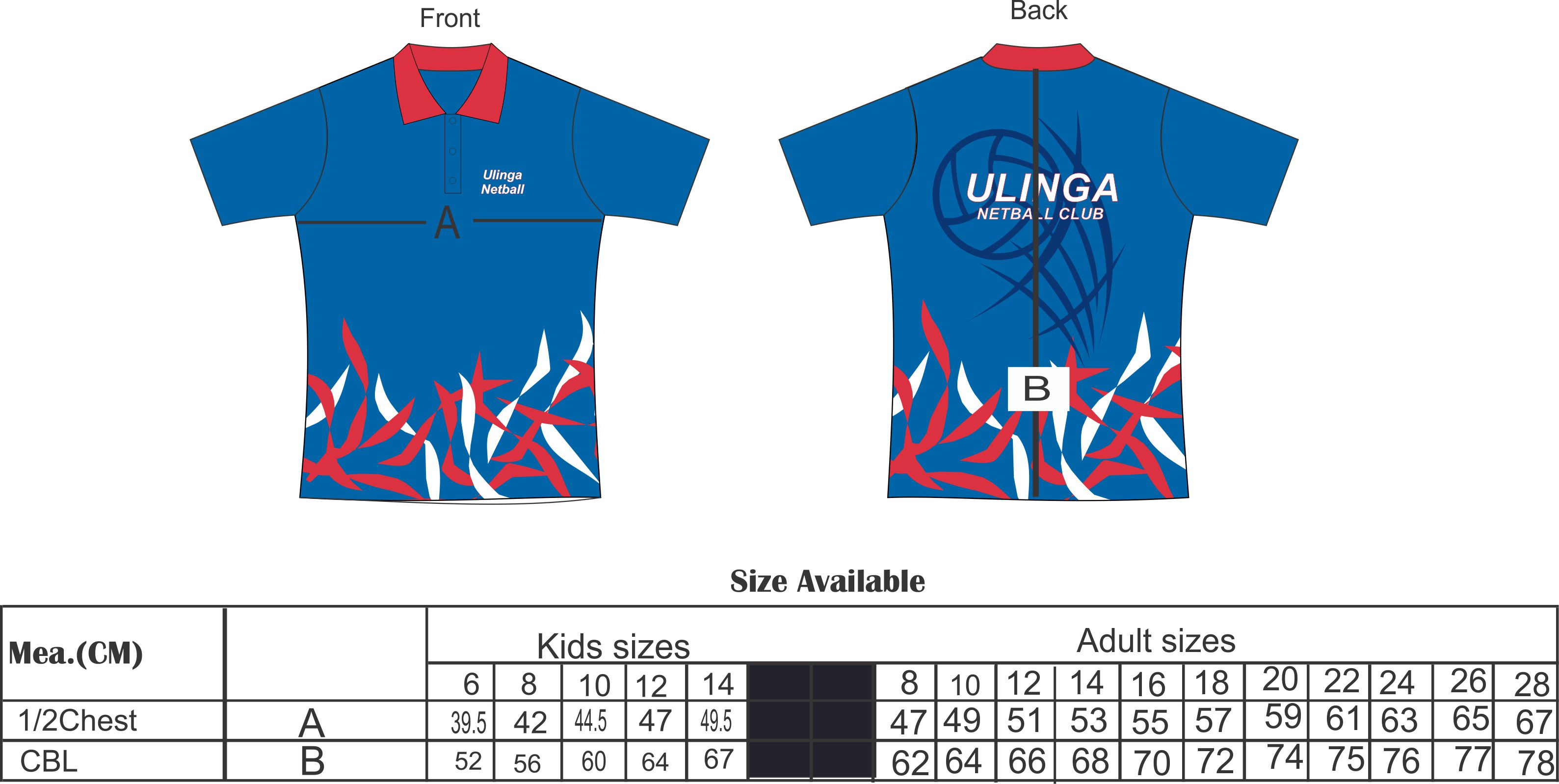 Design t shirt netball - Polo Shirt In Cool Dry Microtex Fabric With A Fully Sublimated In The Club Design