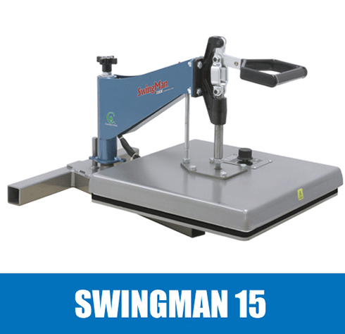 Heat press australia hix swingman 15 heat press for iron for Heat press decals for t shirts