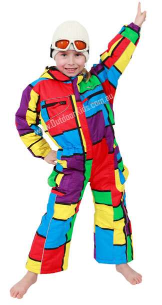 Read more about Kids One Piece Snowsuits (Ages ) + Children's Snowsuits for Toddlers & Kids One-piece kids' snowsuits are an essential piece of outerwear that allow children to play outside in the snow without fidgeting with their separate ski or snowboard jacket and pants.